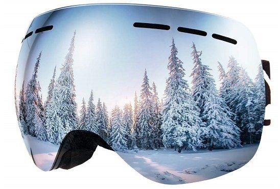 Bfull HXJ14 Skibrille Für Damen, Herren und Kinder mit Anti Fog  und UV Schutz ab 13,29€ (statt 20€)