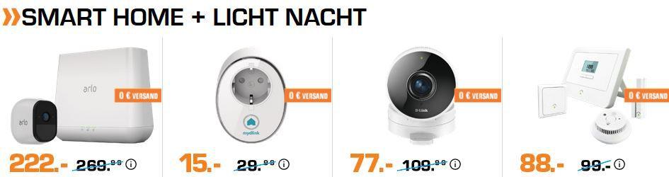 Bis 9 Uhr: Saturn Smart Home + Wearables Nacht: z.B. D Link DSP W115 Smart Steckdose für 15€ (statt 27€)