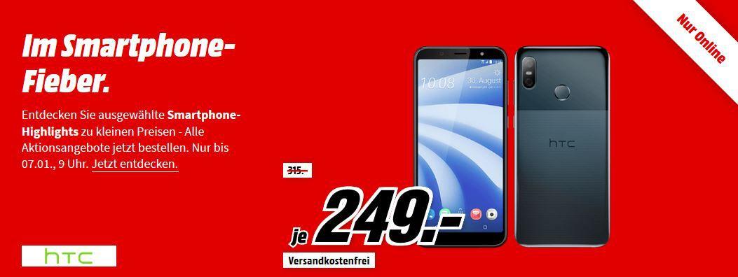 ? Media Markt Smartphone Fieber   z.B. HUAWEI Y6 (2018) 16 GB Dual SIM für 99€