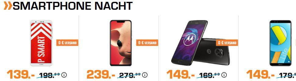 Saturn Late Night Smartphone Shopping: z. B. CATERPILLAR CAT B25 für 44€ (statt 54€)