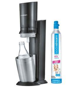 Saturn Schlemmerwoche: günstige Küchenartikel . z.B. SODASTREAM Crystal 2.0, + 2 Flasche für 99€ (statt 119€)