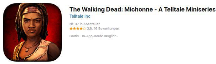 The Walking Dead: Michonne (iOS) gratis statt 5,49€