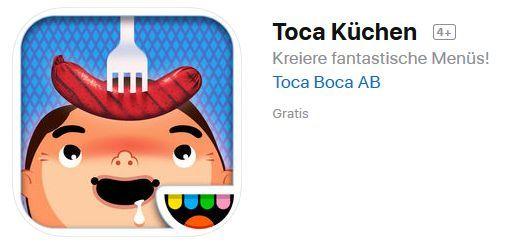 Toca Kitchen (iOS) gratis statt 1,09€