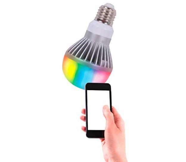 ULTRON save E   appgesteuerte LED Color Leuchtmittel für 10€ (statt 21€)