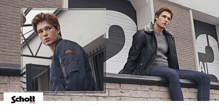 Schott N.Y.C. Mode Sale bei Vente Privee mit bis zu 64% Ersparnis