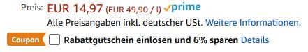 LUV SPOT Nasendusche für 6,58€ (statt 15€)