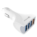 QC 3.0 USB-Ladegerät für Autos mit 4 Ports für 1,99€