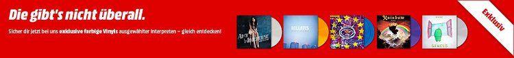 Exklusive farbige Vinyls bei Media Markt ab 19,99€