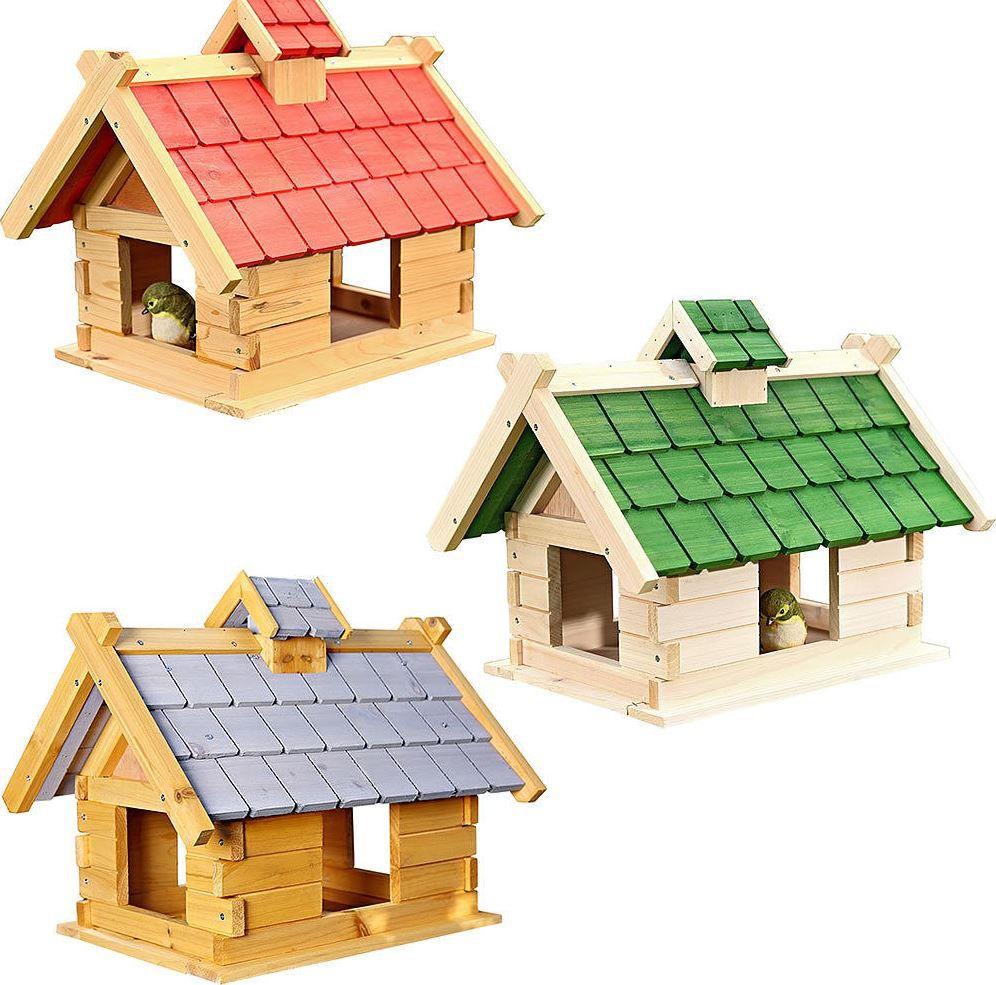 Mucola   Vogelfutter Holz Villa Bausatz für 19,90€