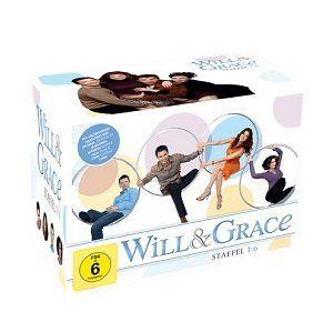 Will & Grace Staffel 1 6 BOX SET im DVD Sammelschuber für 33€ (statt 51€)