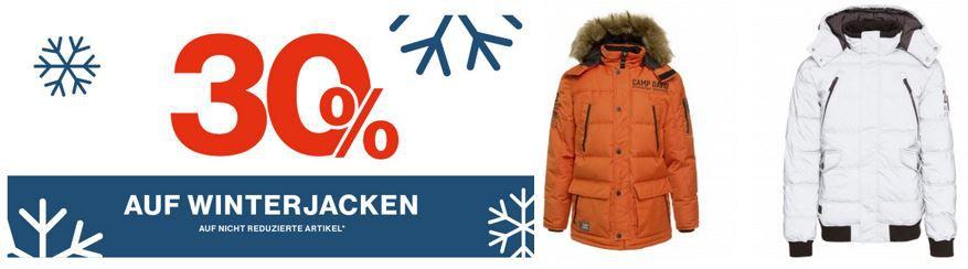 CAMP DAVID & SOCCX Sale mit 30% Rabatt auf nicht reduzierte Winter Jacken bis Mitternacht