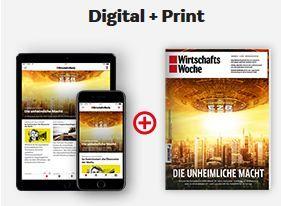 4 Wochen Wirtschaftswoche (print und digital) gratis – Kündigung notwendig