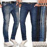 Salvarini Basic Herren Jeans Regular Slim für je 26,90€ (statt 35€)