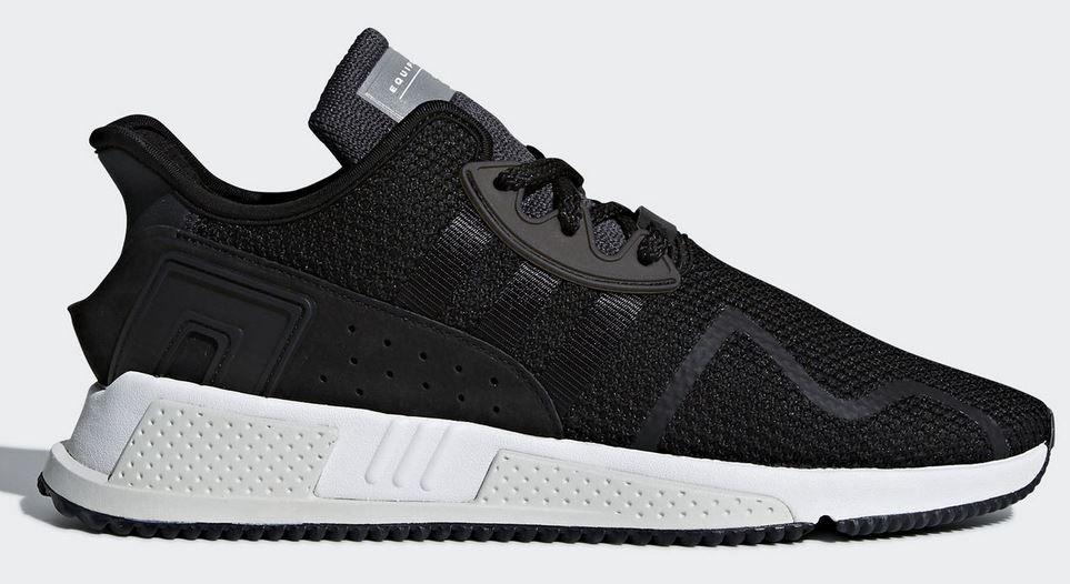 adidas EQT ADV schwarzer Leder Sneaker für 58,78€ (statt 68€)