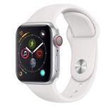 Apple Watch Series 4 LTE 40mm Silber mit Sportarmband für 441,83€ (statt 499€)