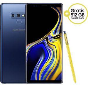 🔥Knaller! Eff. GRATIS! Samsung Galaxy Note 9 (128GB) + 512GB SD + Dockingstation für 4,95€ + 16GB LTE & Telekom All Net