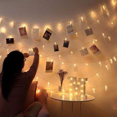 Lichterkette mit 40 LED Klammern für 9,59€ (statt 16€)