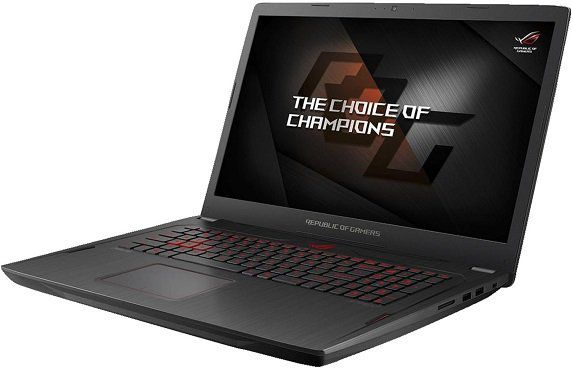 ASUS GL702ZC GC177T Gaming Notebook mit 17.3, Ryzen 5, 16GB RAM, 1TB SSHD, Radeon RX 580 für 988€ (statt 1.500€)