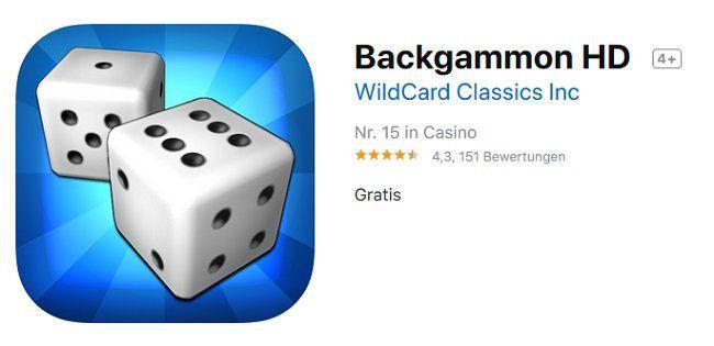 iOS: Backgammon HD gratis (statt 4,49€)