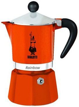 BIALETTI Rainbow Espressokocher für 1 oder 3 Tassen ab 16€ (statt 27€)