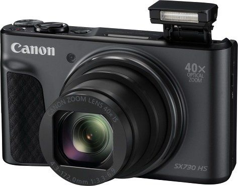 CANON Powershot SX730 HS Digitalkamera mit 20.3 Megapixel, 40x opt. Zoom und WLAN für 209€ (statt 274€)