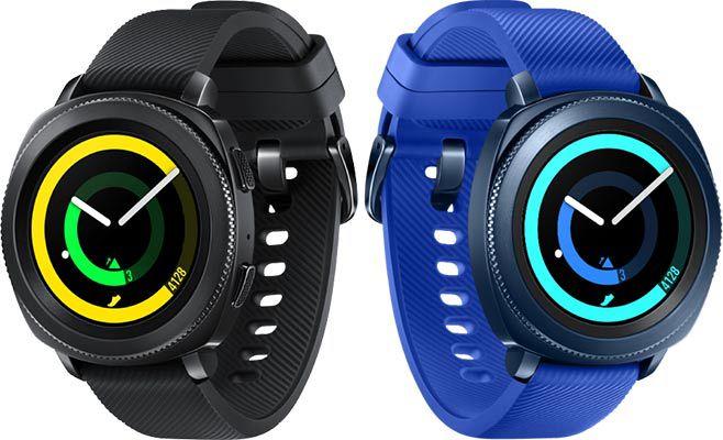 Samsung Gear Sport R600 Smartwatch in Schwarz oder Blau für 129€ (statt 169€)