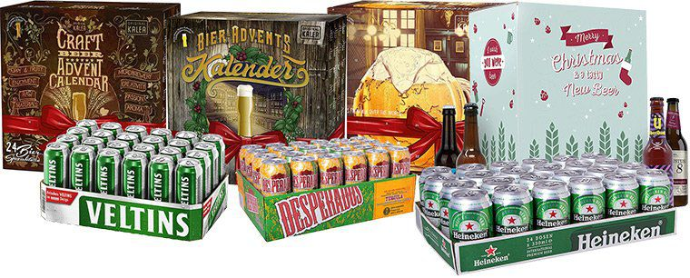 Reduziertes Bier & Bier Adventskalender bei Amazon als Tagesangebot