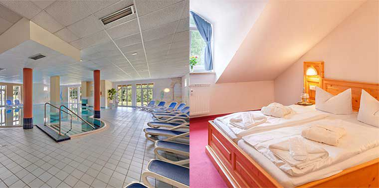 7 ÜN in Niederbayern direkt an der tschech. Grenze inkl. HP & Wellness für 222€ p.P.