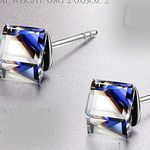 Alex Perry Blaue Ohrringe inkl. Schmuckkästchen für 9,99€ (statt 22€) – Prime
