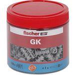 FISCHER BEFESTIGUNG 531028 Gipskartondübel GK-Dose mit 160 St. für 18,49€ (statt 23€)