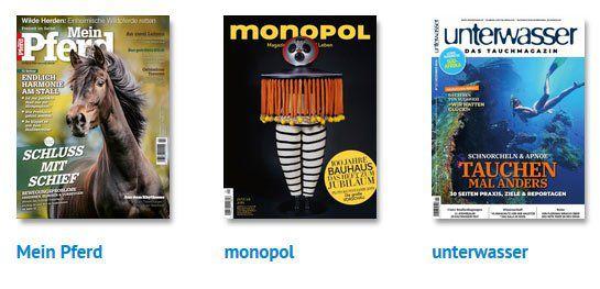 🔥 HOT! Viele Jahresabo von coolen Zeitschriften direkt reduziert   z.B. 1 Jahr Mein Pferd nur 9,95€