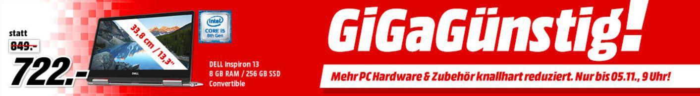 Media Markt GiGaGünstig Sale: PC Hardware & Zubehör reduziert z.B. WD Green 120 GB SSD für 22€