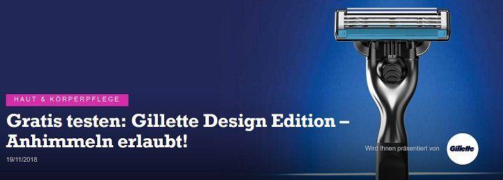 geld zurück: Gillette Design Edition gratis