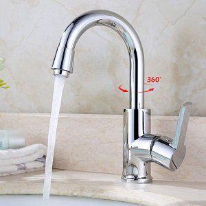 Homelody XPMS0203   360° drehbarer Wasserhahn für 21,99€ (statt 30€)