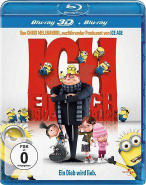 ICH – Einfach unverbesserlich (3D Blu ray + 2D Blu ray) für 9,99€ (statt 17€)