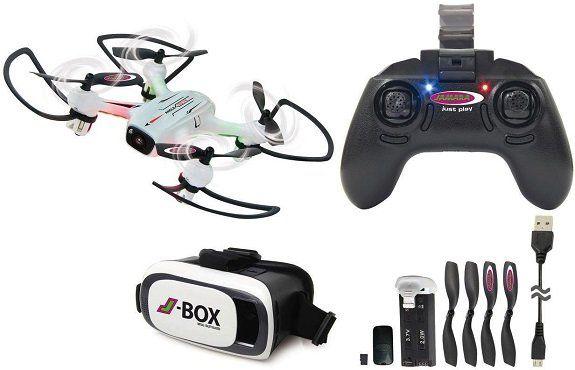JAMARA Angle 120 Altitude HD Wifi VR Drohne in Weiß/Schwarz für 89€ (statt 103€)