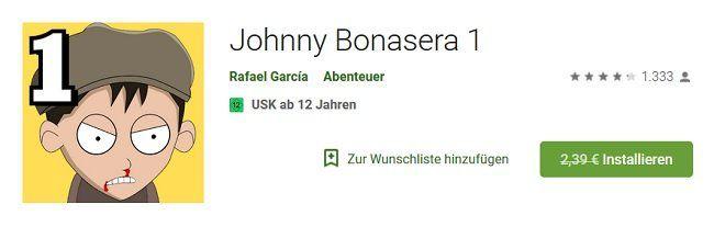 Johnny Bonasera 1 für Android kostenlos statt 2,39€