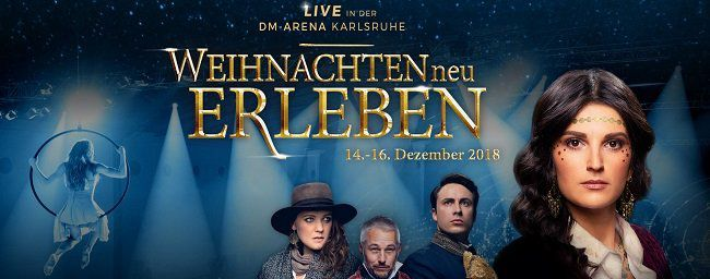 Karlsruhe: Freikarten für Musical  Weihnachten neu erleben