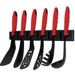 KOPF 124849 Küchenhelferset in Rot/Schwarz für 8€ (statt 15€)