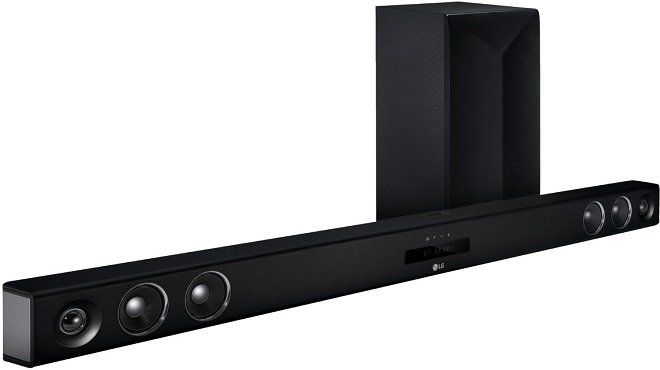 LG LAS655K Smart Soundbar in Schwarz für 179€ (statt 354€)