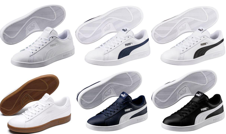 Puma 365215  Smash v2 L Herren Sneaker für je 29,90€ (statt 35€)
