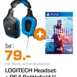 Saturn Entertainment Weekend Deals: z.B. Logitech G430 + Battlefield Logitech G430 + Battlefield 5 [PS4] statt 108€ für 79€ [PS4] für 79€ (statt 108€)