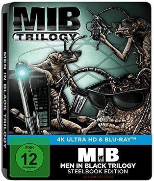 Men in Black 1 3 4K Ultra HD Blu ray (Limited Steelbook Edition) für 38,99€ (statt 73€)