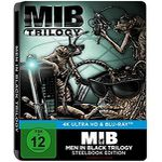 Men in Black 1-3 4K Ultra-HD Blu-ray (Limited Steelbook Edition) für 37€ (statt 62€)
