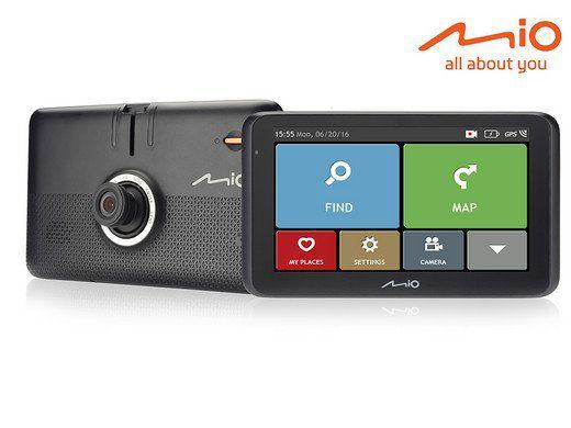Mio Mivue Drive 60LM EU Navigationssystem mit integrierter Dashcam für 135,90€ (statt 206€)