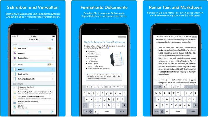 iOS: Notebooks for iPhone kostenlos (statt 4,49€)