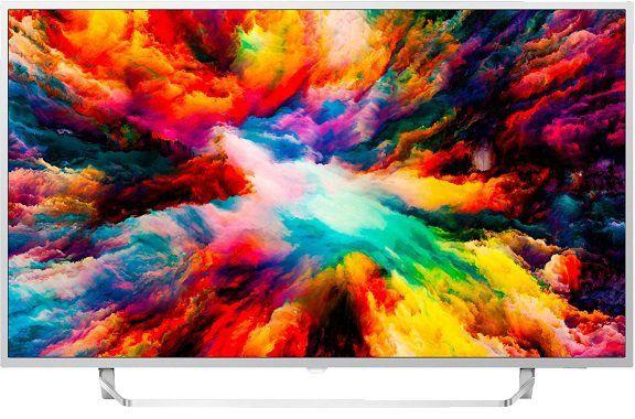 Philips 65PUS7363    65 Zoll UHD Fernseher mit Ambilight 3 seitig für 799€ (statt 880€)