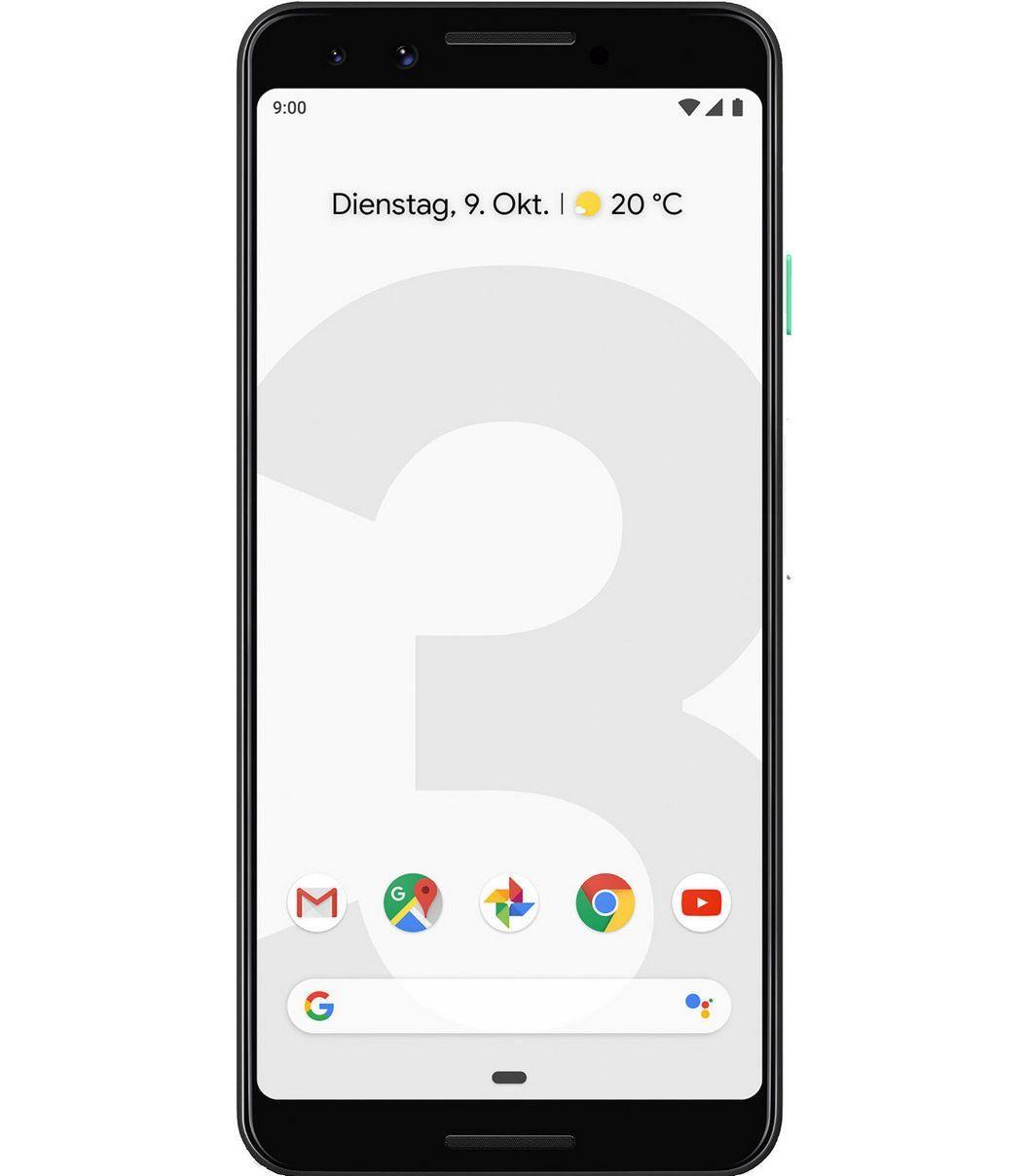 Google Pixel 3 64GB für 516,06€ (statt 595€)