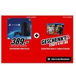 PlayStation 4 Pro 1TB + GTA 5 + Fallout 76 für 389€ (statt 413€)
