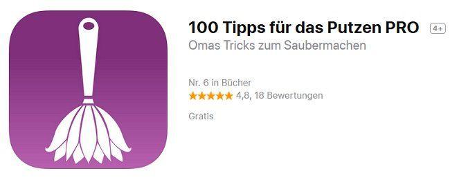 Kostenlose Putz App für iOS
